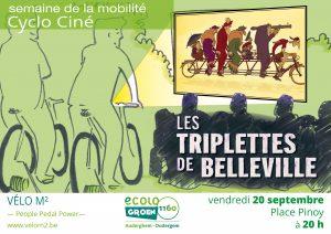 Ecolo Auderghem fait son cinéma (à vélo)